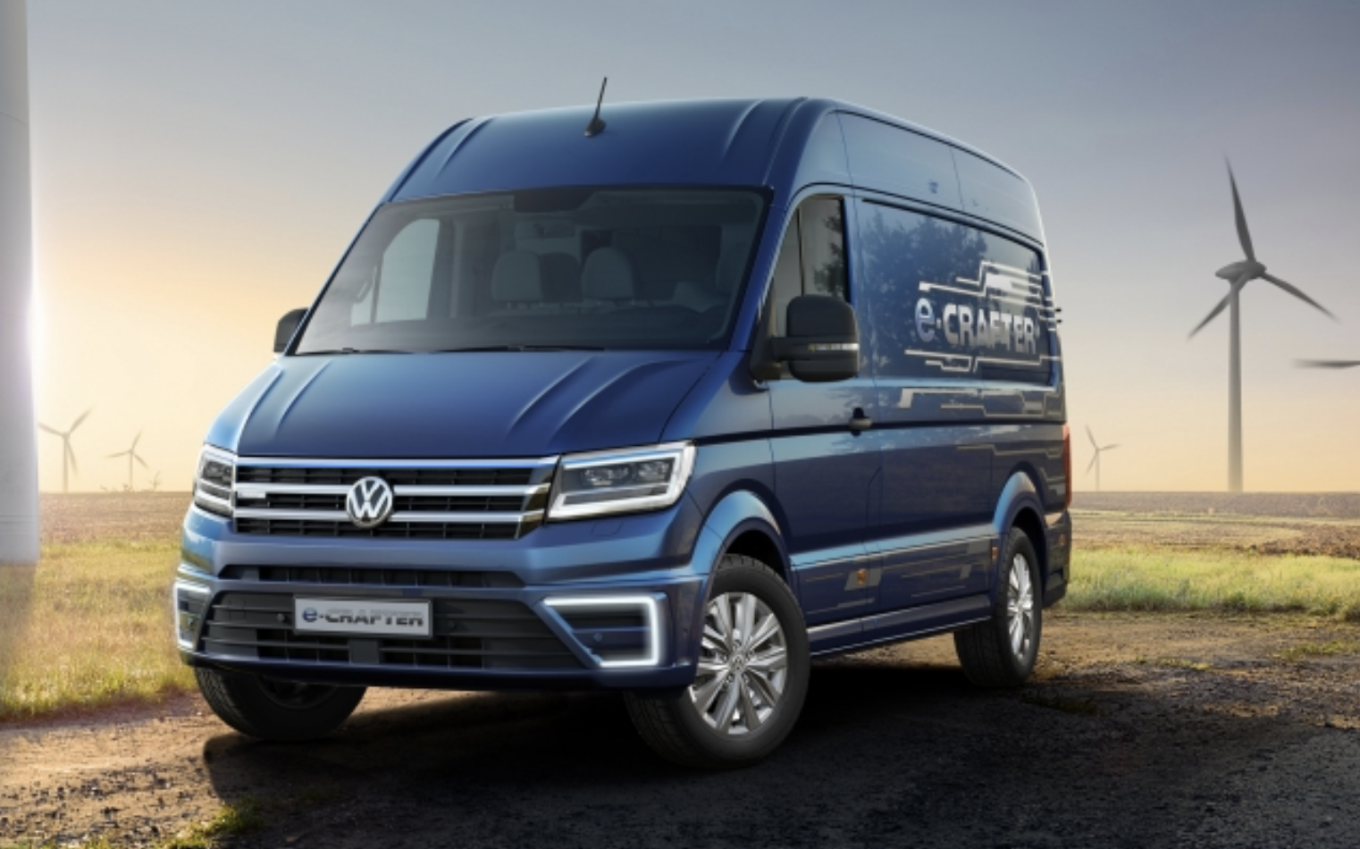New Electric VW Crafter Vans In Stock For Sale & Lease